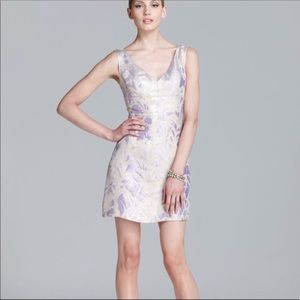 Kate Spade | Minae Dress Lilac Metallic Gold sz 8